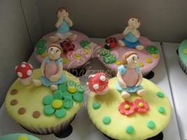 Little Girl cupcake