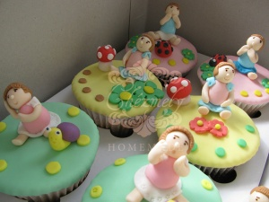 Little Girl cupcakes