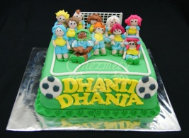 Inazuma Eleven birthday cake